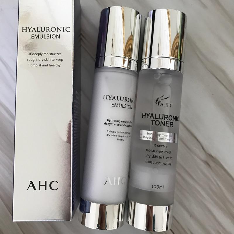 韓國AHC化妝水、乳液