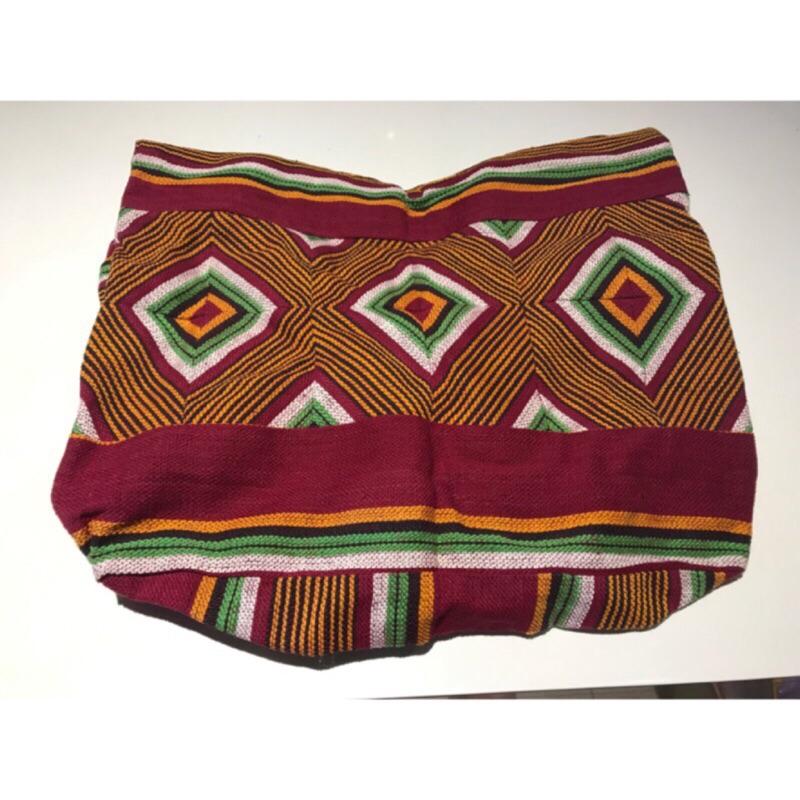 《藝品晶人》民族風針織包(有拉鍊)