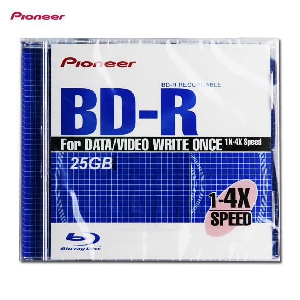 【詮弘科技-有門市-有現貨-有保固】先鋒 Pioneer 25GB 1-4X BD-R 藍光空白片