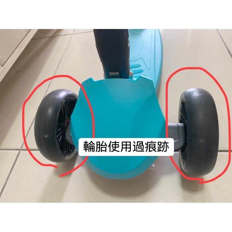 售 (八成新)使用次數較少   【Slider】兒童三輪折疊滑板車XL1 (藍色)