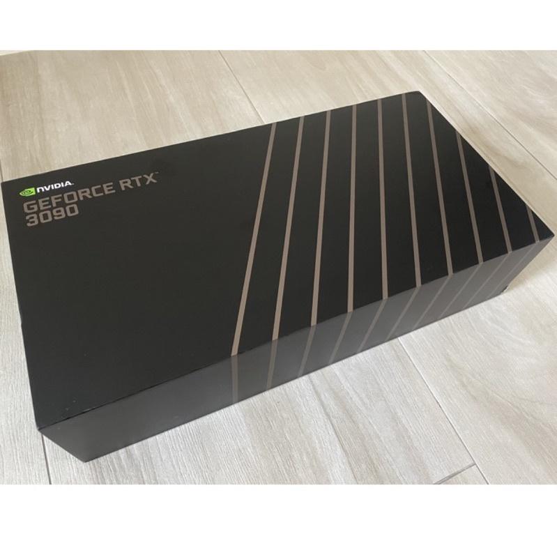 全新 NVIDIA RTX 3090 FE 創始版 未拆版本