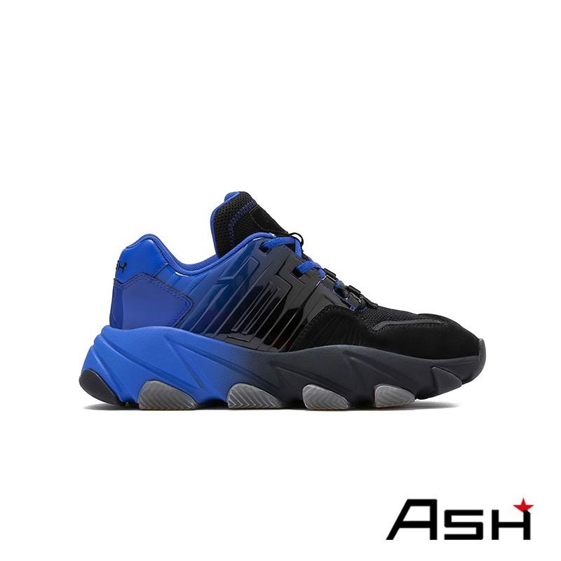 ASH EXTASY 增高厚底老爹鞋 藍色