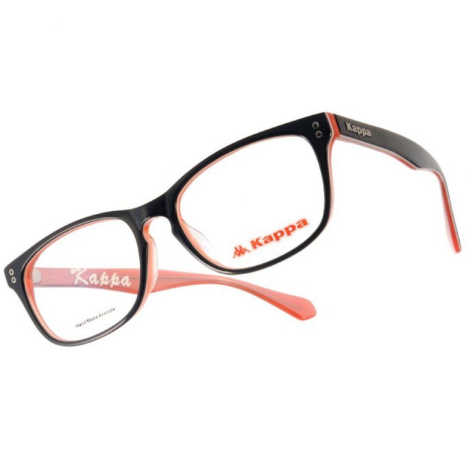 KAPPA 光學眼鏡 KP1030 BK3B 簡約方框款-金橘眼鏡