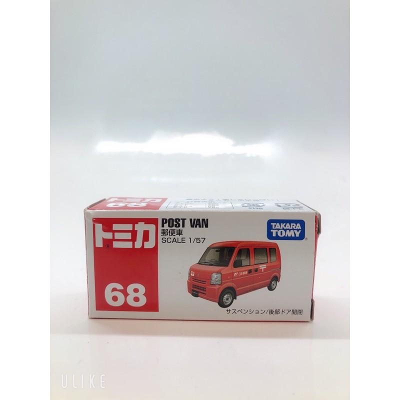 Tomica 68 Post Van