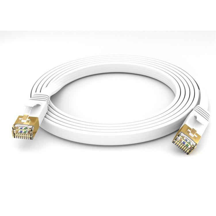 CAT7 高速網路 SSTP 扁型線 10Gbps 30m-CB1894