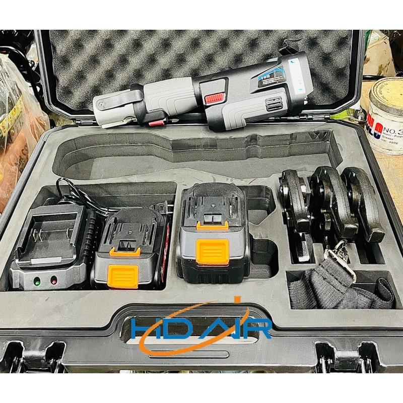 18V 短板充電白鐵管壓接機 可搭配 配適器直上使用110v電壓 液晶顯示壓接計數  非 淺田ASADA  OPT