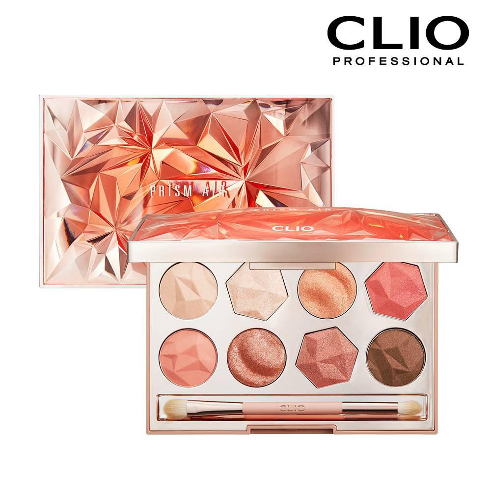CLIO珂莉奧 稜鏡寶石八色眼影盤 01珊瑚水晶【康是美】