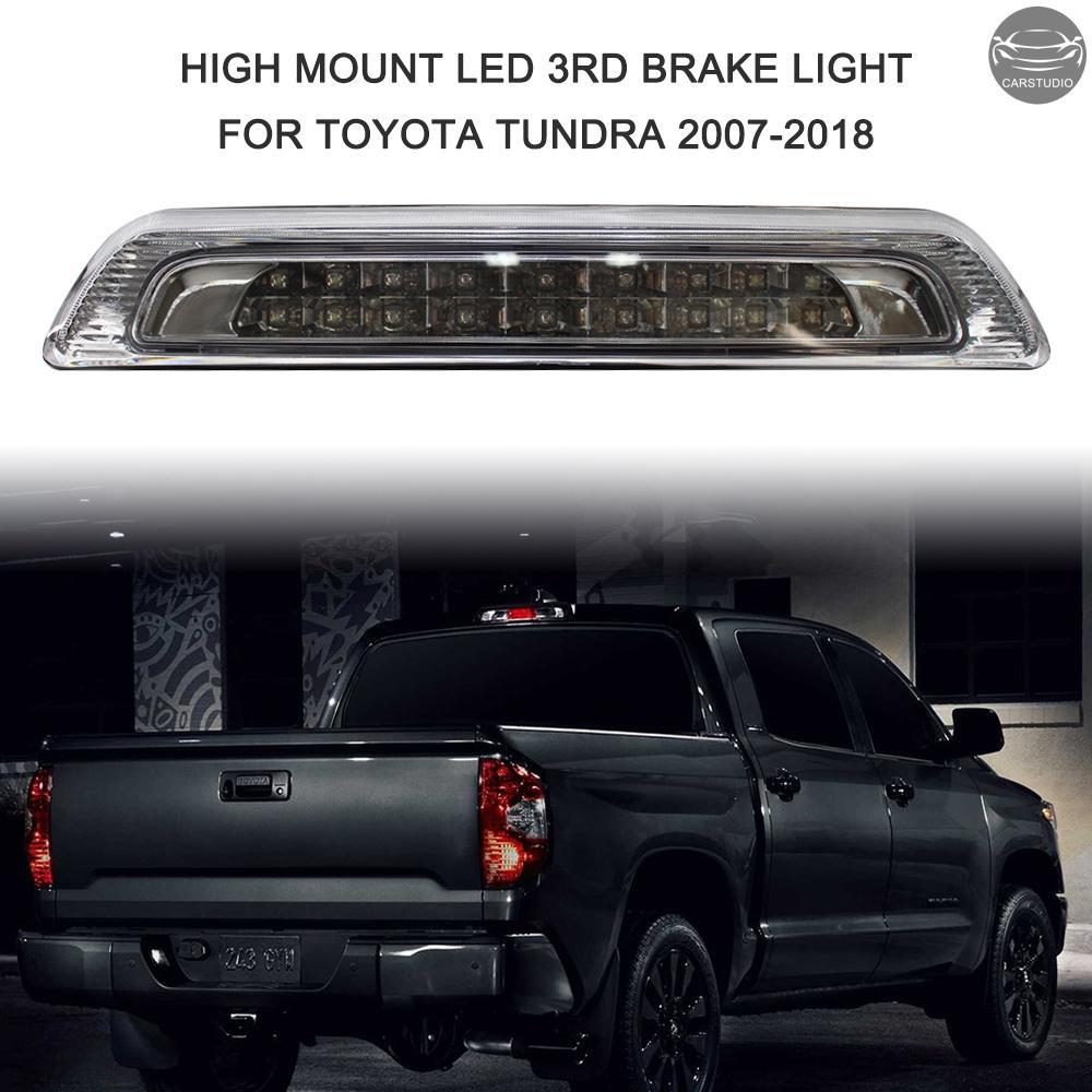 2007-2018年豐田Tundra高位剎車燈黑色外殼LED後第三剎車燈貨物燈