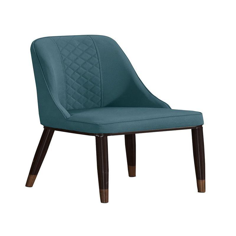 【GA903-4】卡爾森灰色皮餐椅