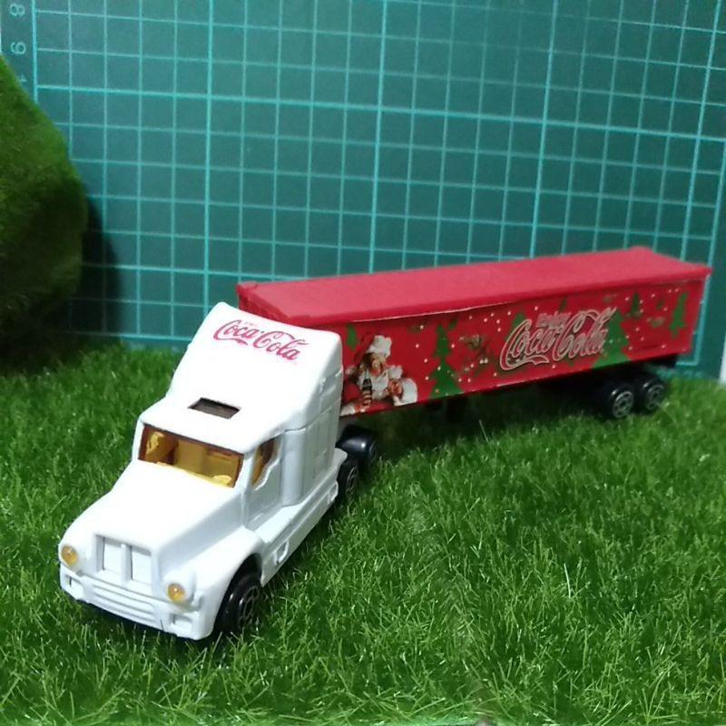 絕版老可口可樂 貨櫃車 長車 玩具車