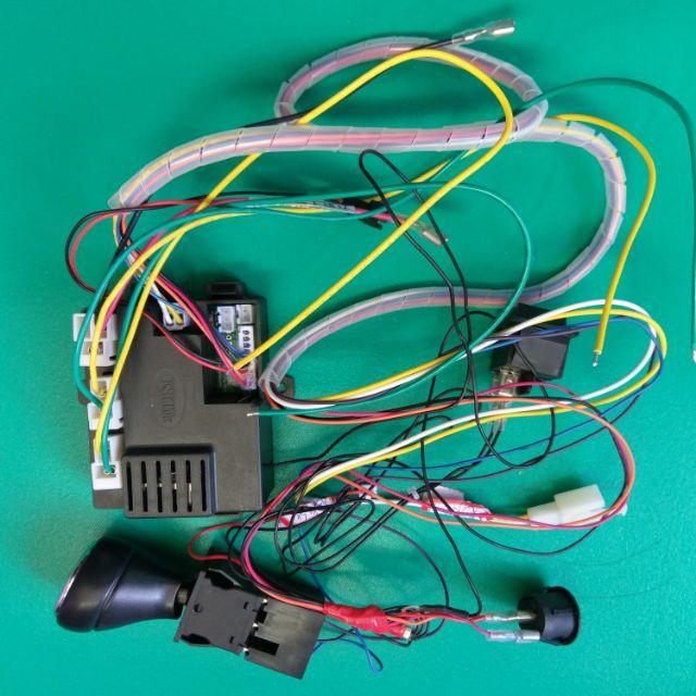 🇹🇼喜樂3c兒童電動車 12V 雙驅動馬達大功率機板 附2.4G遙控器(緩起步功能已內建)。兒童電動車專用改裝。