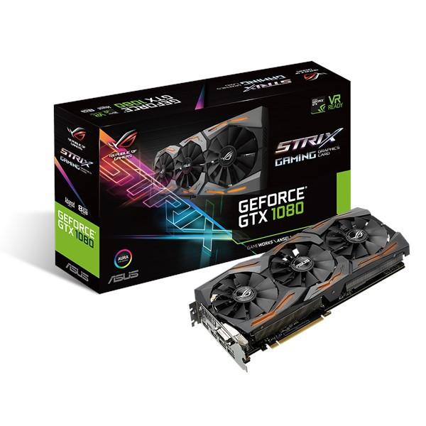 華碩 ASUS ROG STRIX GTX1080 A8G GAMING 顯示卡