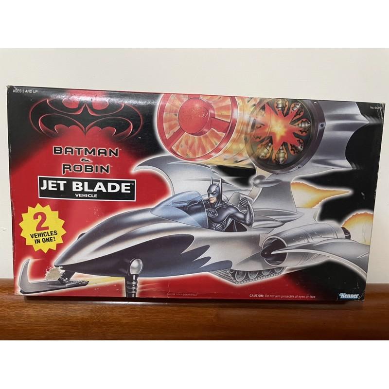 蝙蝠俠 蝙蝠車 1997 戰機 Batman Kenner Jet blade