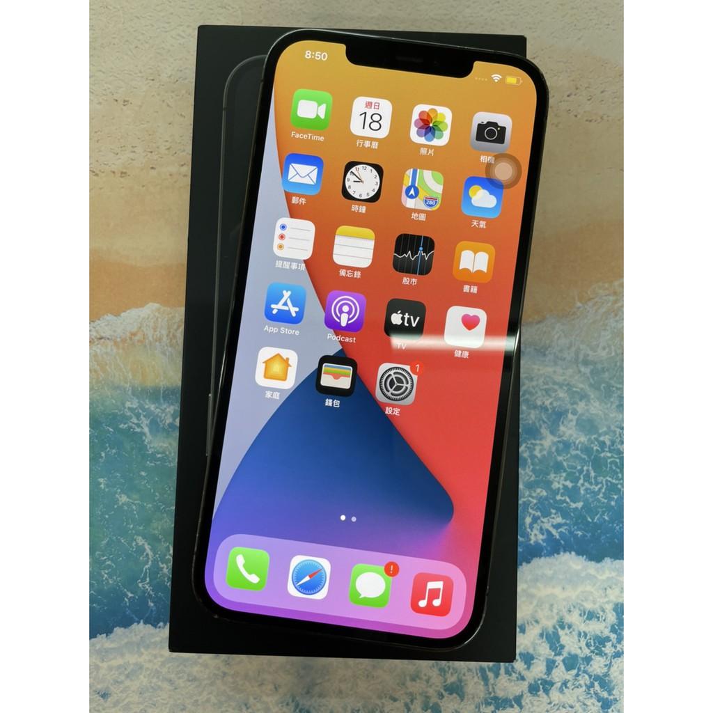 iPhone 12 Pro Max 6.7吋 256G 石墨色 #二手機 #保固中#大里店 55671