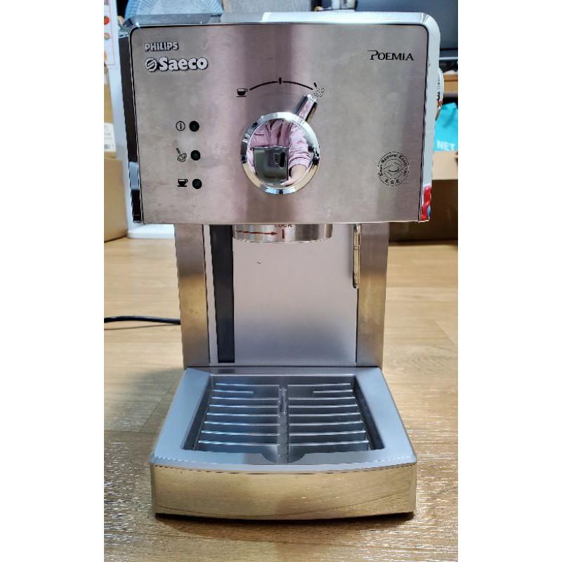 二手Philips  saeco  hd8327半自動義式咖啡機