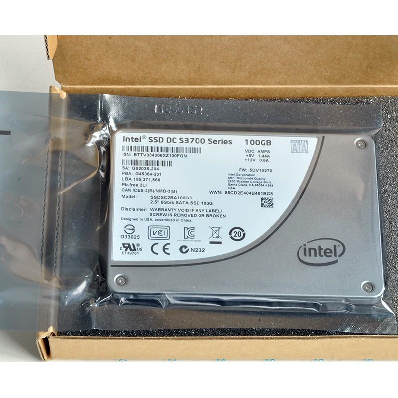Intel/英特爾S3700 400G 200G 100G SSD固態硬盤1.8寸2.5寸S3710