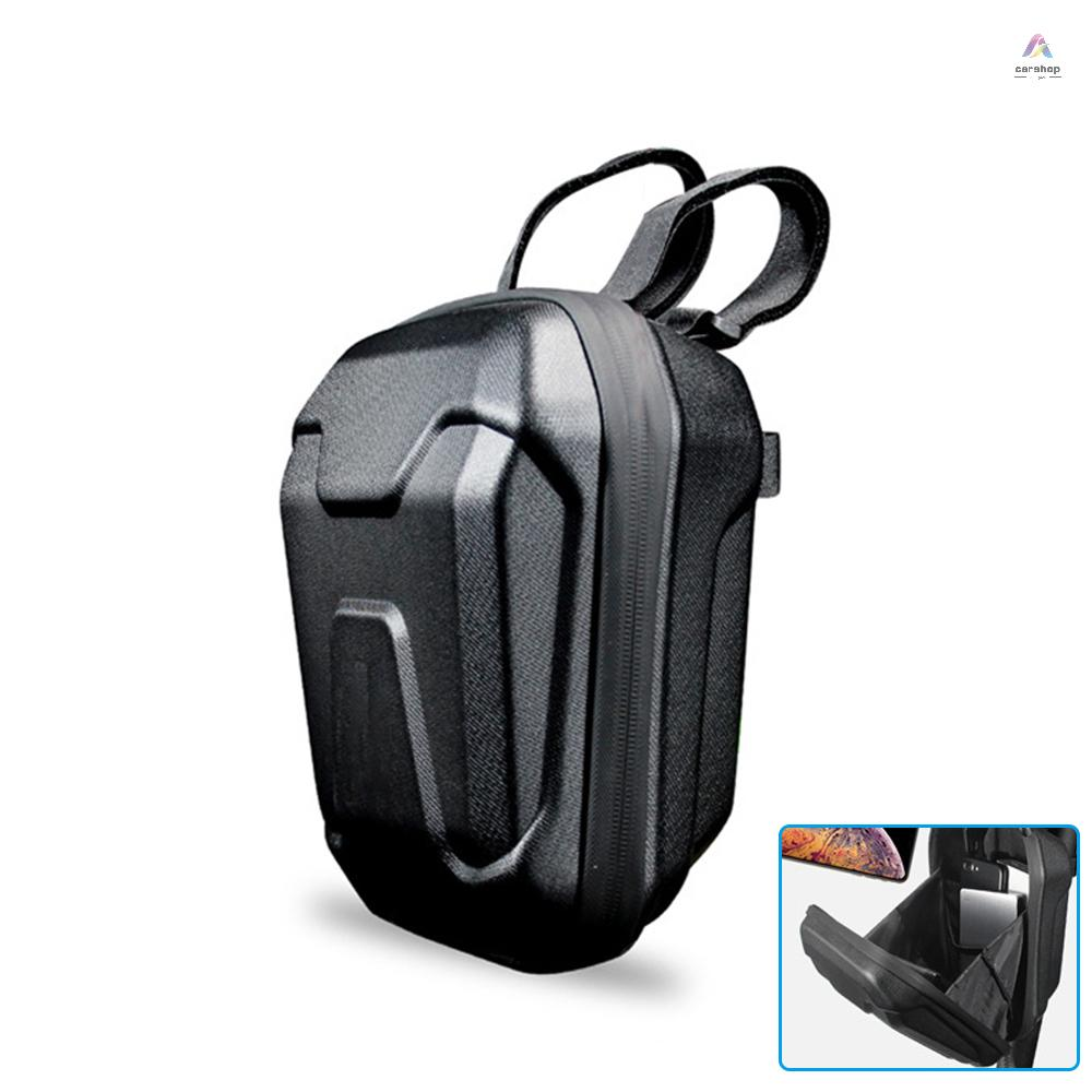 踏板車收納包,防水自行車車把包,前懸掛袋,用於攜帶充電器, 維修工具