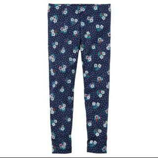 Carter's 藍小花棉質長褲 現貨18m 桃園市