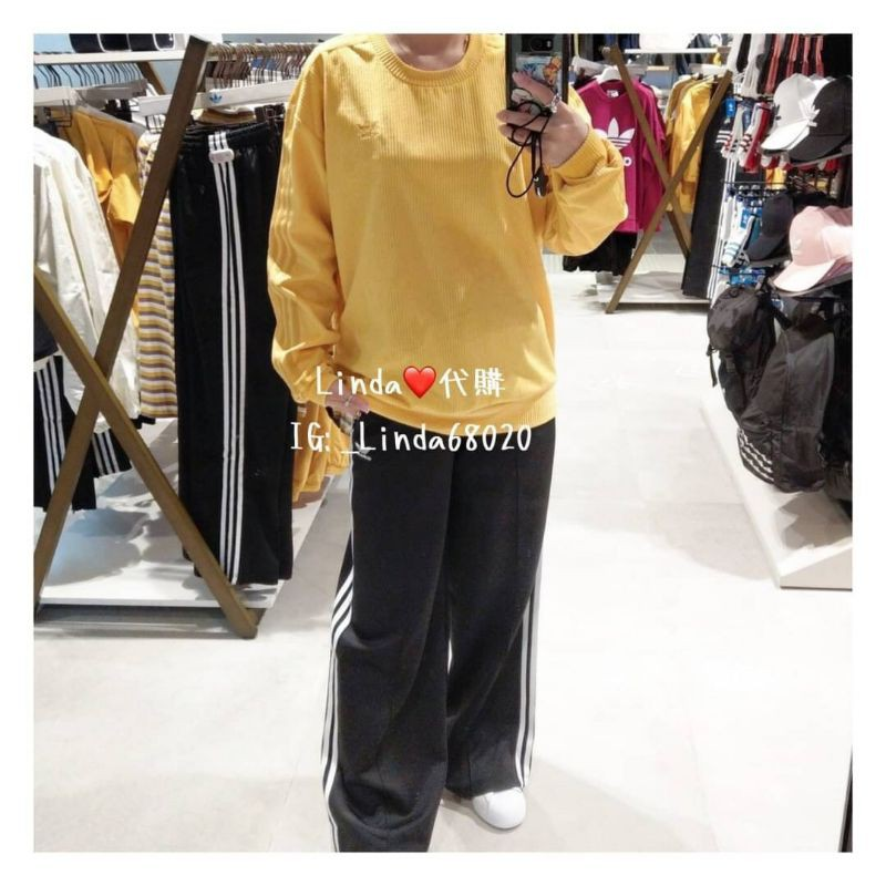 Linda❤️代購 Adidas PRIMEBLUE 三線條 寬褲 運動 瑜伽 休閒褲 GD2273