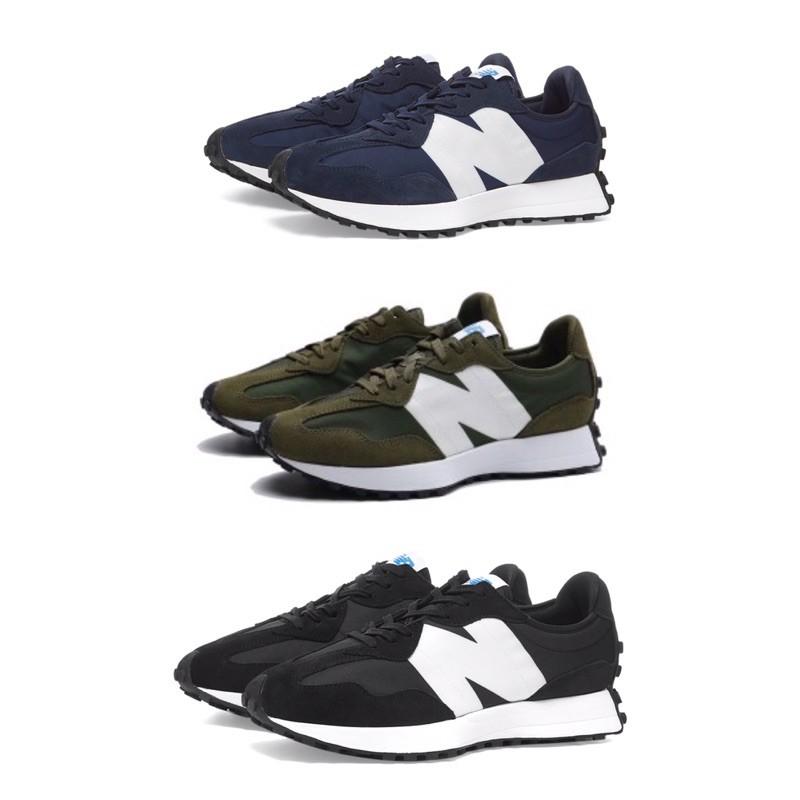 [New balance] 327 男女款休閒復古鞋  黑 Ms327CPG 藍 MS327CPD 綠 MS327CPE