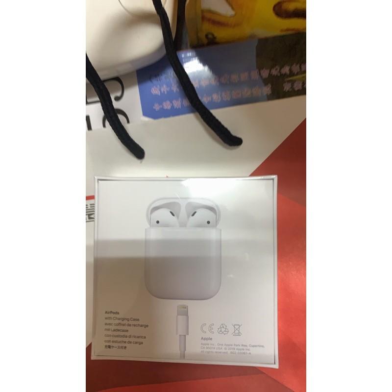 全新現貨apple airpods二代, airpods pro無線藍牙耳機,台灣公司貨(2019年版),單耳、充電盒