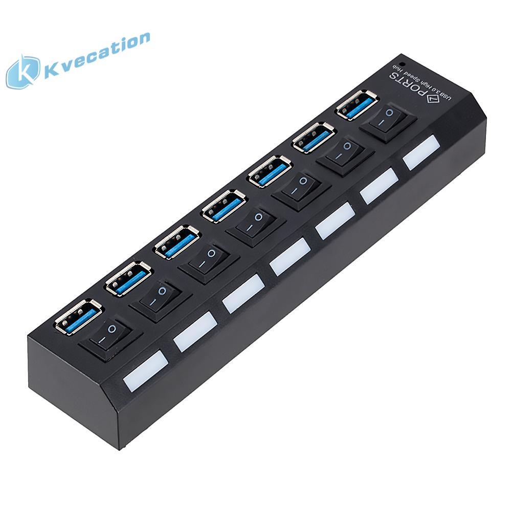 ⚘獨立7口3.0hub集線器 USB3.0集線 USB高速HUB