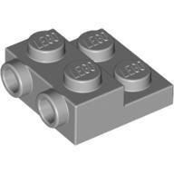 LEGO 4654577 99206 淺灰色 2x2 2/3 側接轉向 薄板