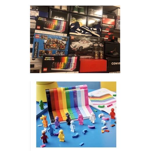 LEGO 樂高 40516 素色人仔 11色人仔 兒童益智玩具積木年