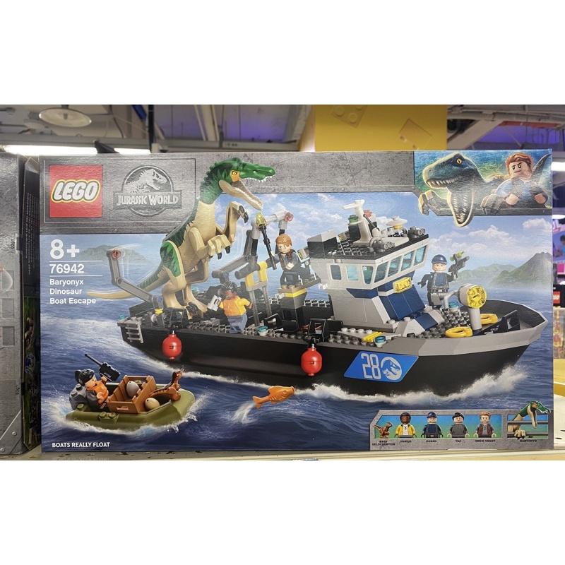 樂高  LEGO Jurassic World系列 76942 堅爪龍小艇脫逃
