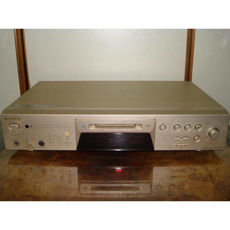 40.SONY MDS-JE770 MD播放機可當DAC使用特價7000元