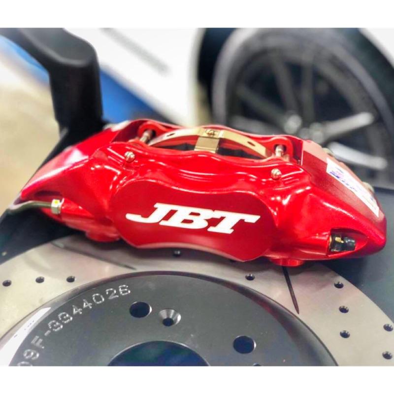 """""""LDS"""" 新 JBT 四活塞 4活塞 jb4p 330mm 單片碟盤 畫線 打孔 煞車套裝 日系車款 歐系車款"""