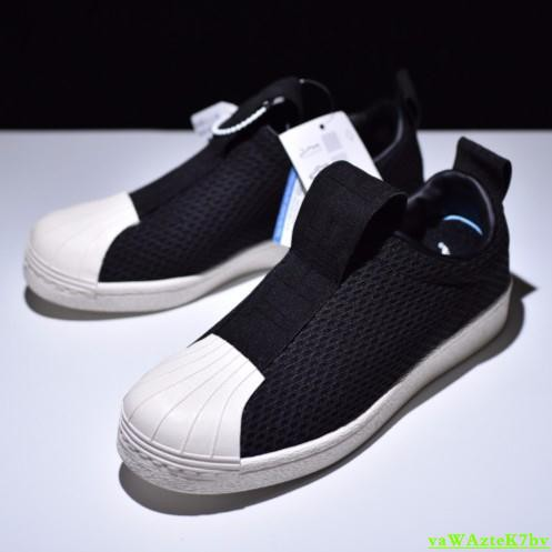 online retailer 2705d 964bd Adidas SuperStar BW Slip-on 繃帶鞋 黑 BY9137 板鞋 懶人鞋 男 女