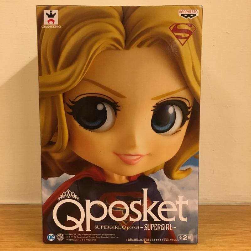 女超人 Qposket QP supergirl A 款  全新未拆封 日版 正版 景品 模型 公仔