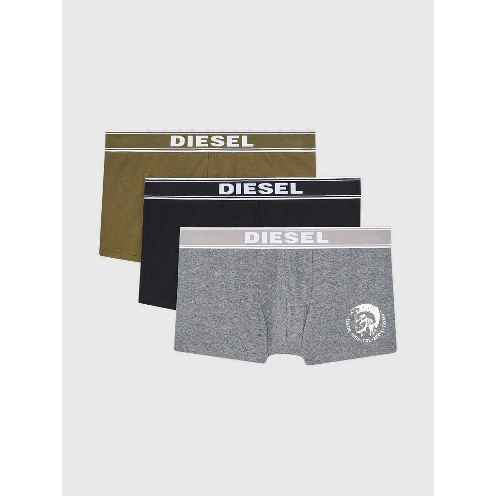 Diesel 男款 3Pack UMBX-SHAWN 三色 四角褲 內褲 三件裝 LOGO  現貨