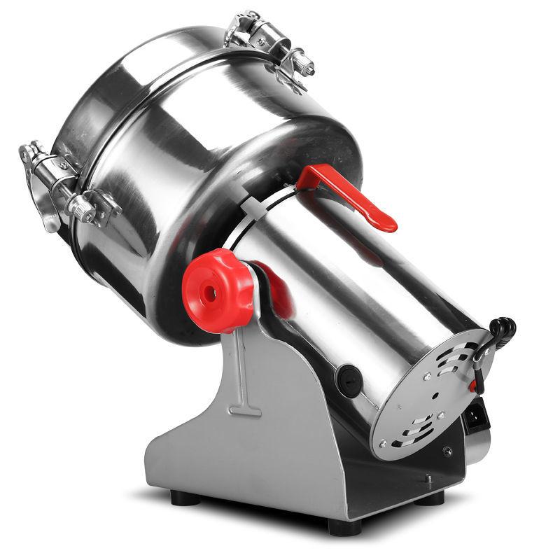 【免運】骨頭粉碎機 家用小型打料機 磨粉機 打粉超細研磨機 五穀雜糧粉碎機