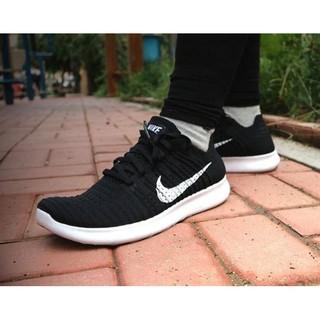 【尬鞋】Nike Free RN Flyknit 黑白 襪套 針織 赤足 5.0 編織 男女 831069-001 臺中市