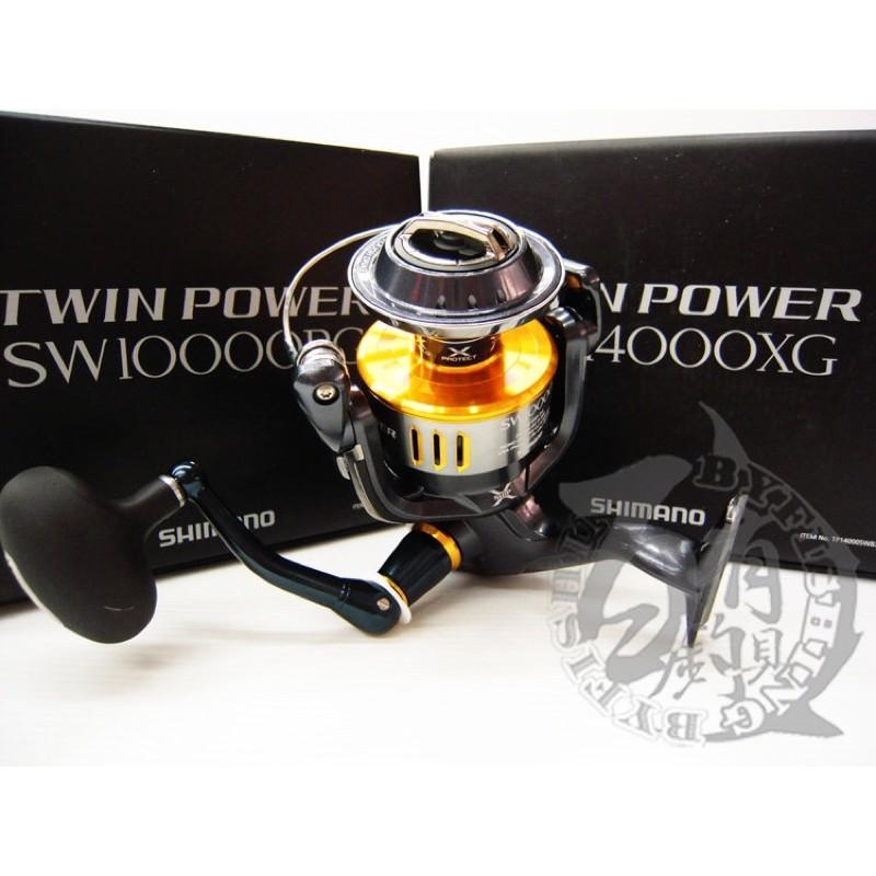 ◎百有釣具◎SHIMANO TWIN POWER SW14000XG捲線器~ 日製品 撘載高持久性設計