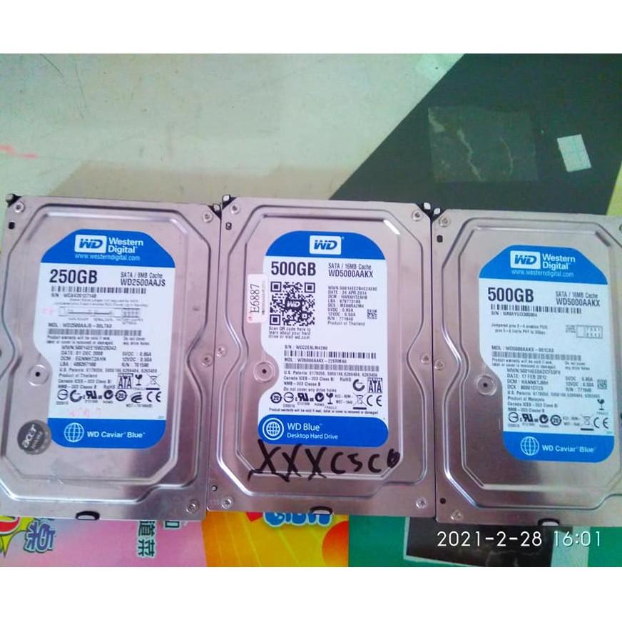 【故障報帳用】故障SSD///硬碟 3TB/1TB/500G/250G/160G/2.5吋500G/