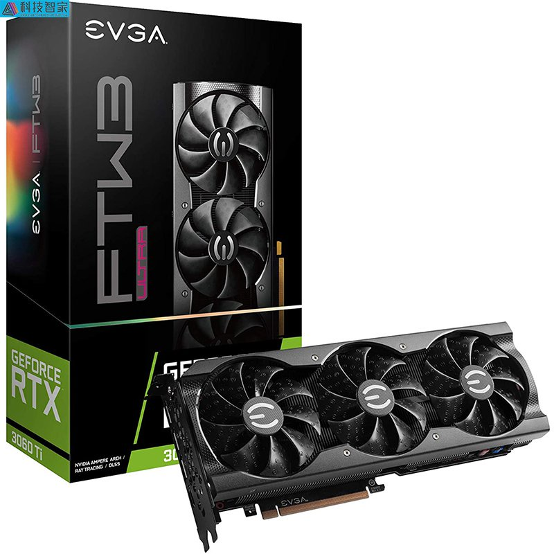 【極速出貨 聯繫客服】EVGA GeForce RTX 3060 Ti FTW3 ULTRA GAMING顯卡tb