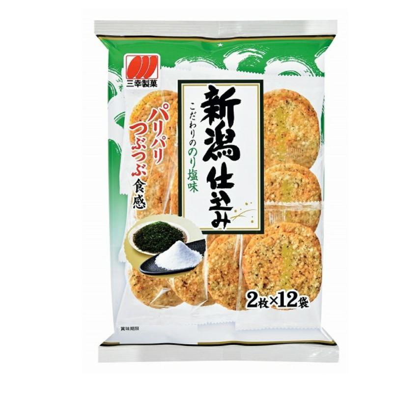 三幸製菓新瀉海苔味米果