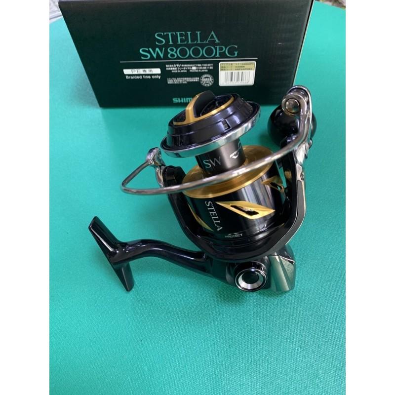 =日本原裝=19年款 SHIMANO大物型捲線器 STELLA SW 8000PG 鐵板/海釣/石斑/龍膽