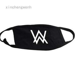 Xinchengwenh 音樂 Dj Alan Walker Cosplay 配件套裝最佳毛衣褪色面罩