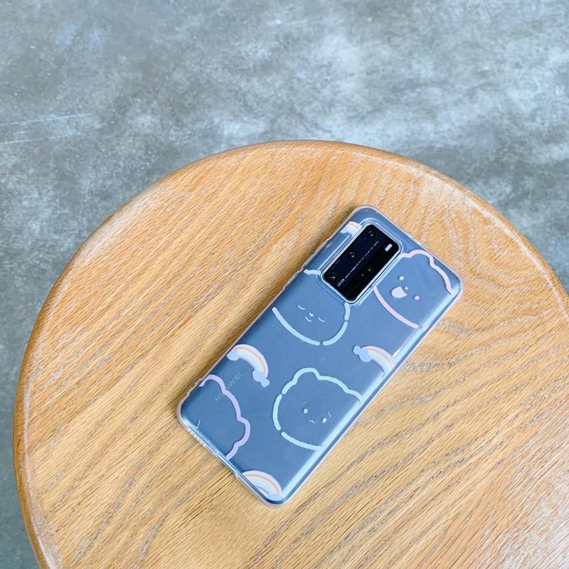 小清新 透明軟殼 適用於Huawei nova5pro手機殼 全新華為p40/p30適配mate30防護罩