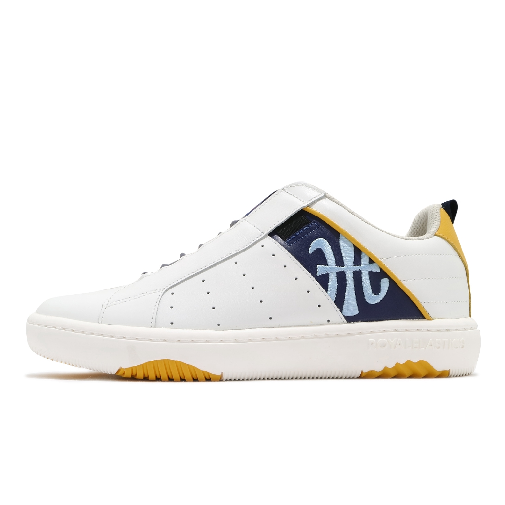 Royal Elastics 休閒鞋 Icon Manhood 2.0 白 藍 皮革 男鞋 【ACS】 06501053