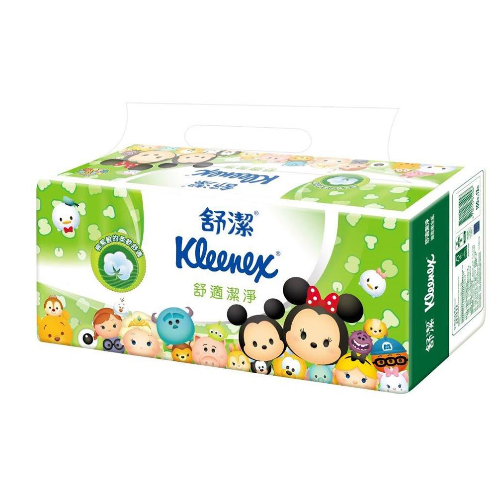 舒潔 迪士尼舒適潔淨抽取衛生紙Tsum Tsum限定版100抽*72包/箱