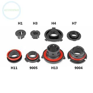 燈泡適配器固定器 9004 /  9005 /  H13 /  H11 /  H7 /  H4 /  H3 /  H1 套配件 2x