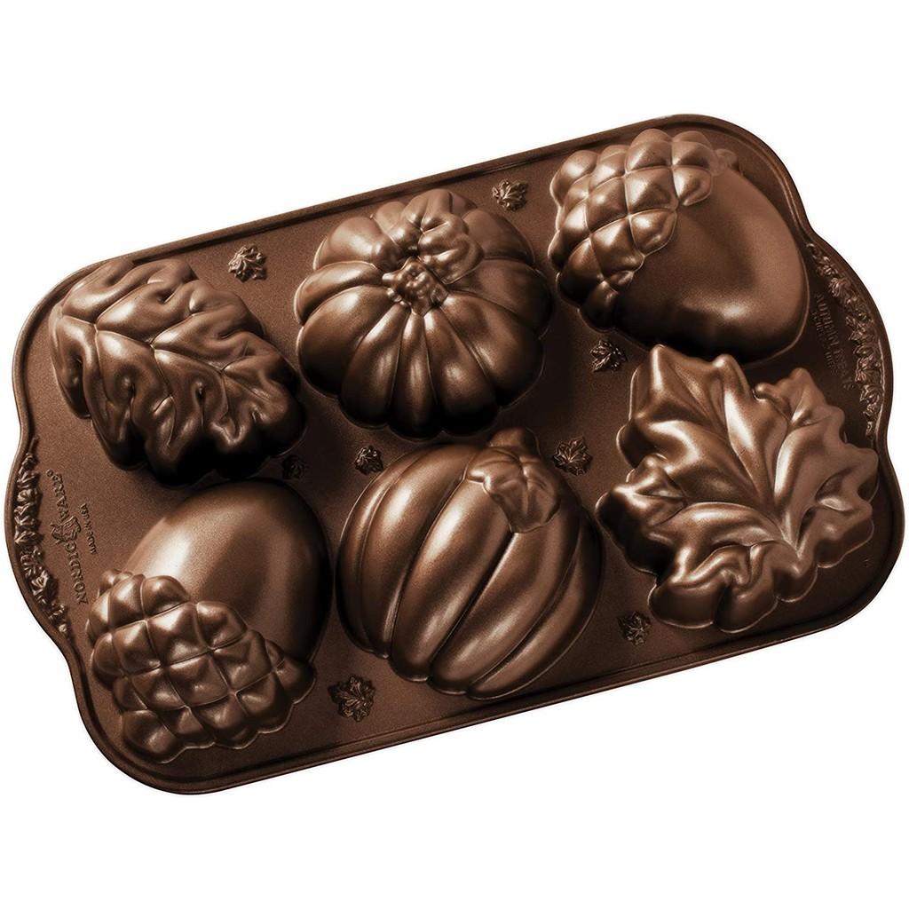 ~❤美國寶寶的衣櫥❤~(現貨)美國製Nordic Ware Autumn美國諾迪威 四季烤模6顆松果組 美國製