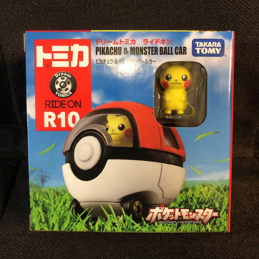 繽紛樂.🇯🇵日本_多美RIDE ON(R10)|トミカ Tomica 多美 小車 皮卡丘 寶貝球