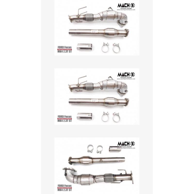 晟信 MACH5當派 觸媒 頭段 中段 尾段 排氣管 Downpipe FORD FOCUS MK4 2.3T ST