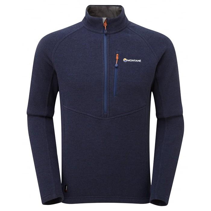 【Montane 英國】Neutron 立領長袖保暖排汗衣 機能保暖衣 保暖上衣 男款 南極藍 (MNEPO)